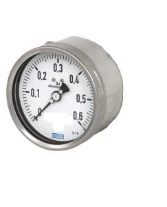 0-0.6 KG 160MM WIKA PRESSURE GAUGE BACK MOUNTING 232.50