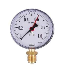 0-1 KG 100MM WIKA PRESSURE GAUGE BACK MOUNTING 232.50