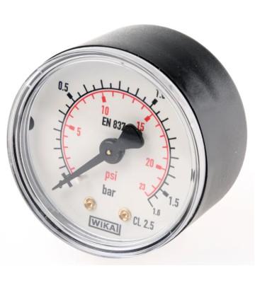 0-1.6 KG 160MM WIKA PRESSURE GAUGE BACK MOUNTING 232.50