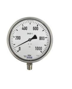 0-1000 KG 100MM WIKA PRESSURE GAUGE BACK MOUNTING 232.50