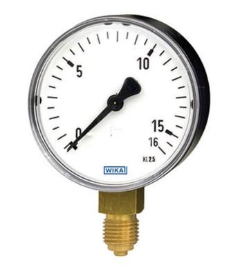 0-16 KG 100MM WIKA PRESSURE GAUGE BOTTOM MOUNTING 232.50