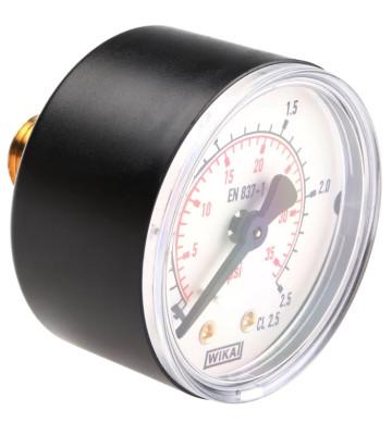 0-2.5 KG 160MM WIKA PRESSURE GAUGE BACK MOUNTING 232.50