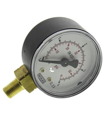 0-4 KG 100MM WIKA PRESSURE GAUGE BOTTOM MOUNTING 232.50