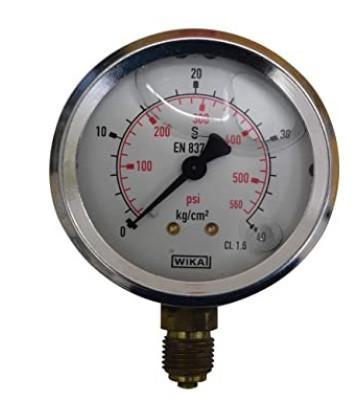 0-40 KG WIKA PRESSURE GAUGE BACK MOUNTING 213.53